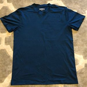 Men's Barbell Apparel Tee | L | Blue / Teal